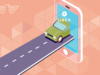 Uber stock valuation as it was expected?